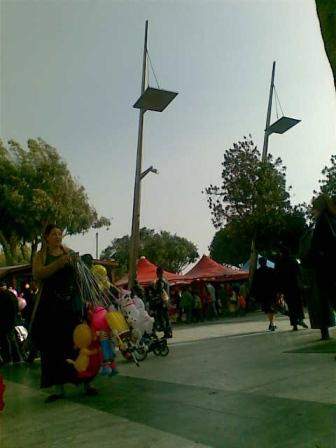 Πλατεία Τριών Καμαρών, ιδανική για Λούνα Πάρκ