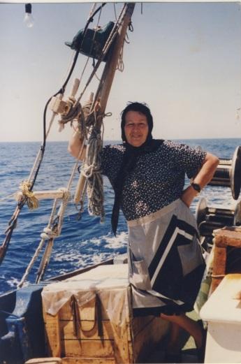 Η Μαρία του Λιμανιού, μόλις άνοιγε ο καιρός ανοιγόταν στη θάλασσα