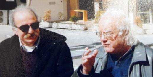 Ανδρέας Σαββακης και Νικηφόρος Σταματάκης(αριστερά, σήμερα)