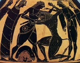 Από αρχαίο αγγείο