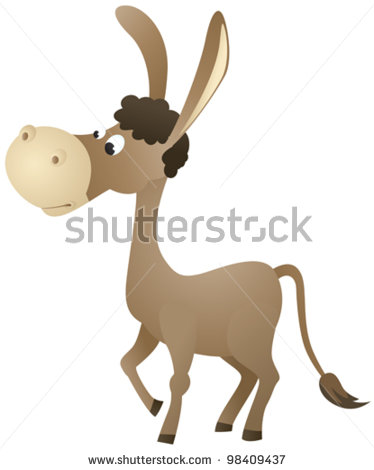 stock-vector-fun-cartoon-donkey-98409437