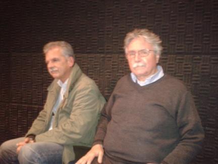 Αριστερά Σ.Δανελλης, δεξια Α.Ανιψητάκης, μηχανικοί, στο χώρο της ανανεωτικής Αριστεράς κάποτε κι οι δυο