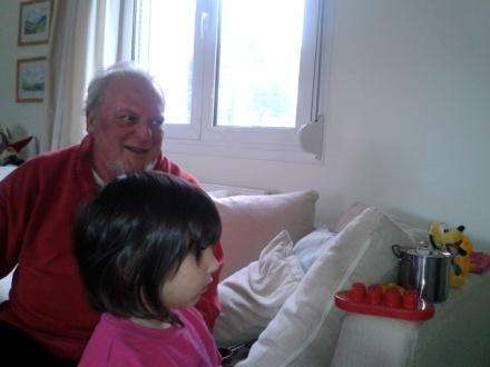 Νίκος Βιδάκης, συνταξιούχος πια στο κτήμα του στα λακκουβάρια