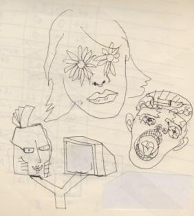 Η συνάντηση με η Λώρα, ανατίναξε την ηρεμία μου...(2001σχέδιο Σπύρου Ζ.)