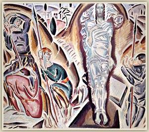 Κ.Παρθένης: Ανάσταση, η ζωγραφική γίνεται Θρησκευτική Τέχνη, χωρίς να μειώνεται η αισθητική της αξία