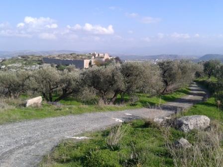 Γενική άποψη του κάστρου από τον νότο