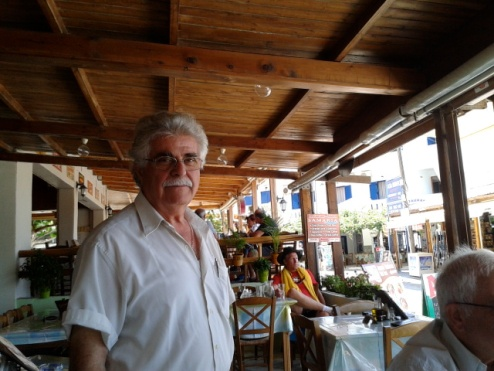 Προκόπης Τζατζιμάκης, αδερφός του φίλου μας του Στράτου, έμοιαζαν αρκετά - ας άλλαξαν οι δεκαετίες πολλά...