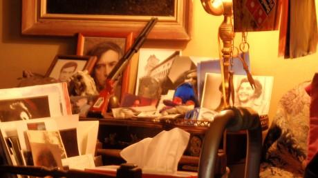 Εσωτερικό στο σπίτι Της Λούλας Αναγνωστάκη (αρχείο Γ.Ζ.)