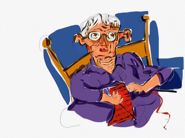 Η γιαγιά της Κοκκινοσκουφίτσας