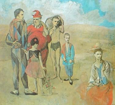Πικασό, το τσίρκο (γαλάζια αποχή)