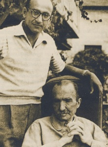Με τον Κ.Φράιερ-τον γνωρίσαμε κάποτε στην Αθήνα (1964;)-γλυκλυτατος και φανατικός Καζαντζακικός/ από αυτούς που βοήθησαν αποφασιστικά την προώθηση των έργων του συγγραφέα στην Αμερική