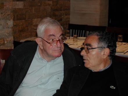 Λέων Καραπαναγιώτης και Νίκος Βεριγάκης, κάποιο Πάσχα στο Ηράκλειο