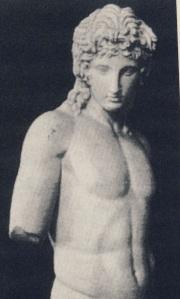 Έρωτας, από το Centocelle, αντίγραφο  έργοτ του 360 π.Χ. Βατικανό
