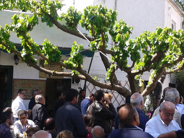 Τελευταία εκδήλωση στο Περαχώρι, ένα δέντο αγωνίζεται να πρασινίσει το περιβάλλον...