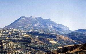Ο αρχαίος θεός σου πέτρωσε στο βουνό...(φωτο: διαδικτύου)