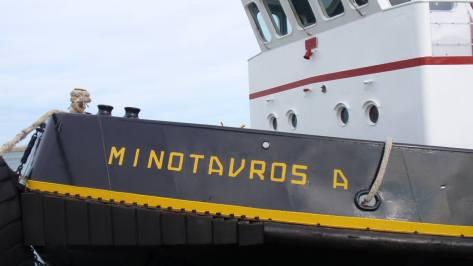 Ναυαγοσωστικό, λιμάνι Ηρακλείου φωτ.Σ.Λ.