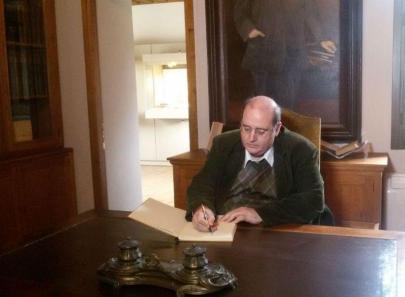 Προσφατη επίσκεψη στο σπίτι του Ελευθεριου Βενιζέλου, στο γραφείο του Εθνάρχη