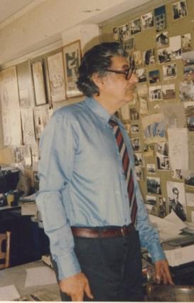 Μανόλης Αναγνωστάκης, στο Ηράκλειο και στο γραφείο της Ρ΄Χούρδου 4