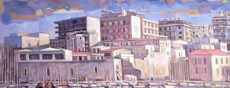 Το Ηράκλειο της Μεταπολίτευσης, τό χαρακτήρισε  η δημαρχία Καρέλλη/τμήμα πίνακα του Α.Βλάση
