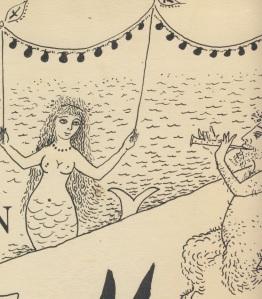 Σκίτσο του Μίνου Αργυράκη ,από την οδό Ονείρων