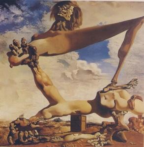 """Πίνακας του ΝΤΑΛΙ : """"Προμήνυμα εμφυλίου πολέμου"""" 1936"""