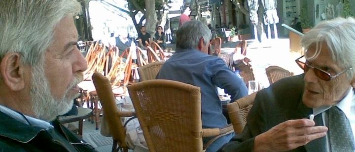 Με τον Γιάννη Περτσελάκη, κάτοικοι του κέντρου της Παλιάς πόλης, με πολλά κοινά ενδιαφέροντα