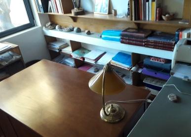 Το γραφείο του Φώτη Καφάτου, στο σπίτι της Φορτέτσας