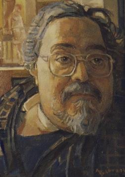 Αυτοπροσωπογραφία του Αριστείδη Βλάση