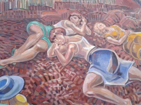 Από τα καινούρια έργα του ζωγράφου, έκθεση 5.6.2015