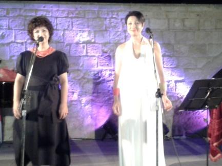 Ελενη Σταφανάκη και Ρενα Τουτουντζακη