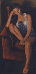 Ελένη Σπαντιδάκη : ΕΙΡΗΝΗ, ακρυλικό σε μουσαμά