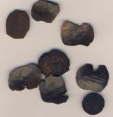 Απόμεινα λίγα χάλκινα βυζαντινά νομίσματα
