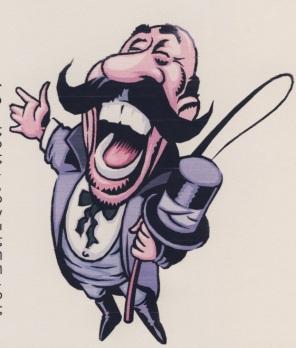 Θηριοδαμαστής, μόνιμο σκίτσο στην Στήλη του Σ.ΚΑΜΑΡΗ στην Τόλμη(1995-2005)