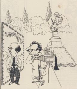Οταν υπήρχαν στην πλατεία φωτογράφοι, σκίτσο  Γιάννη Ανδρεαδάκη