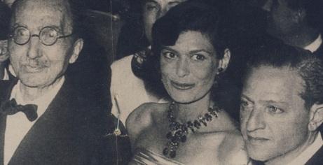 Ο Νίκος Καζαντζάκης με την Μελ΄να και τον Ντασέν - τοέργο γυρίστηκε όσο ζούσε ο μεγάλος κρητικός συγγραφέας