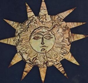 """Ήλιος, του Δ.Διαμαντόπουλου για την ¨Αλκηστη""""του Κουν 1934"""