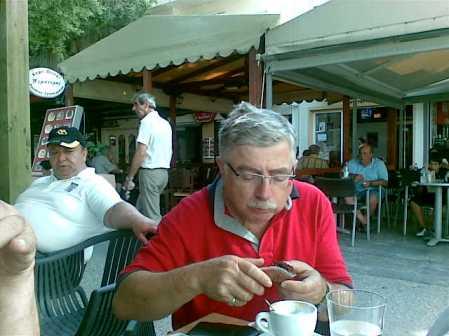 Δημήτρης Ξηριτάκης, γείτονας και φίλος του Νίκου Βιδάκη